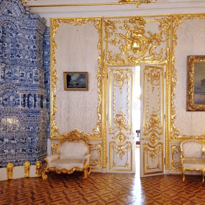 Beleza de Barocco foto de stock