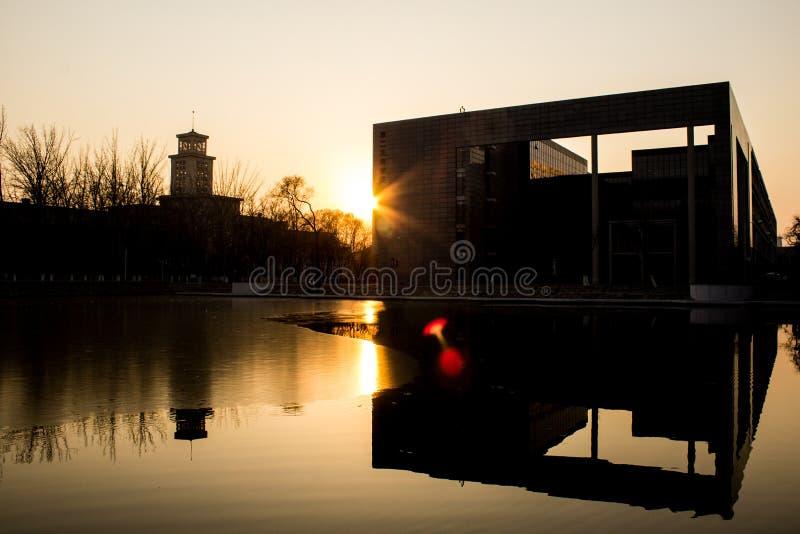 Beleza de China, Tianjin fotos de stock