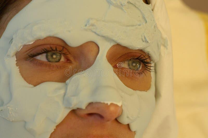 Beleza de Facemask imagem de stock