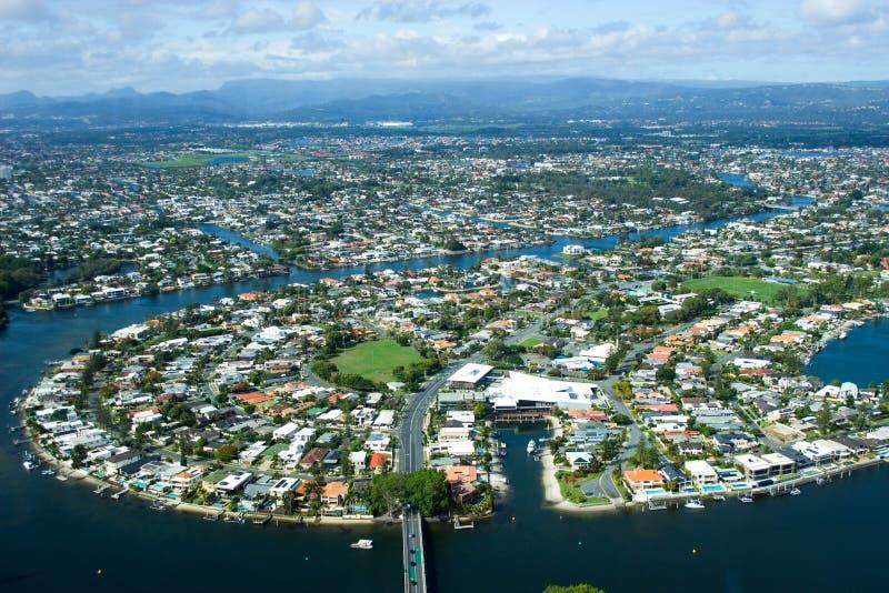 Beleza de Gold Coast foto de stock royalty free