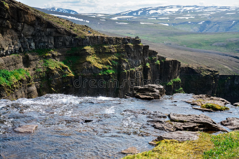 Beleza de Islândia foto de stock