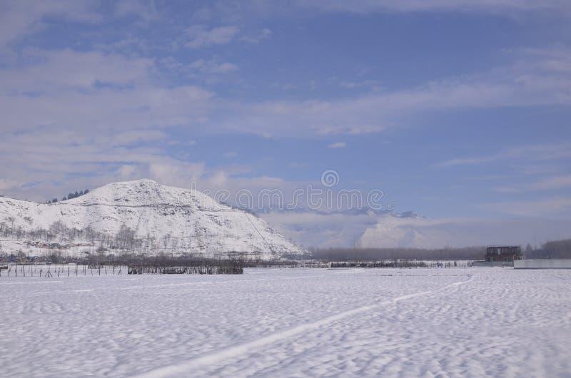 Beleza de kashmir norte Baramulla imagens de stock royalty free