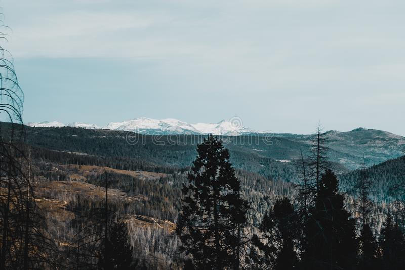 A beleza de Lake Tahoe imagem de stock royalty free