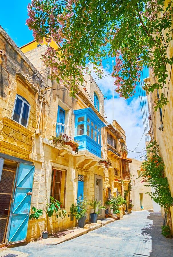 A beleza de Rabat velho, Malta fotos de stock
