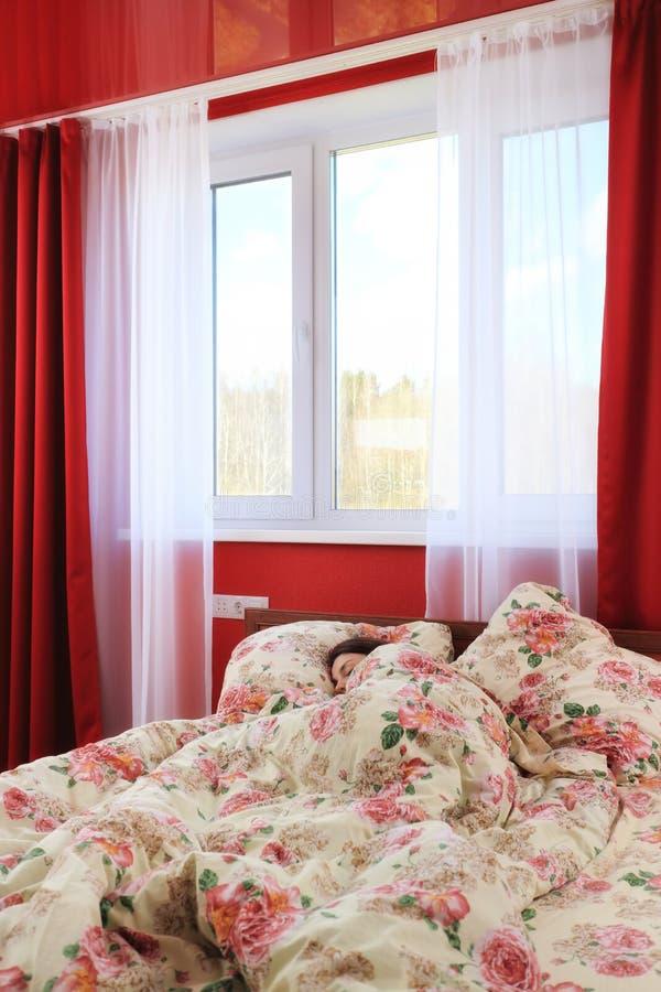 Beleza de sono imagens de stock royalty free