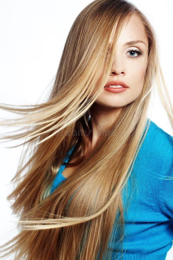 Beleza do cabelo imagem de stock