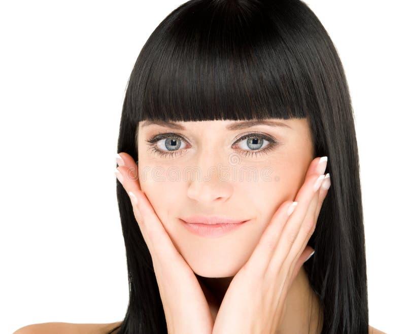 Beleza do Close-up imagem de stock royalty free