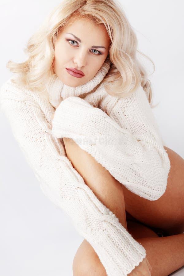 Download Beleza do inverno imagem de stock. Imagem de chapéu, senhora - 16868691