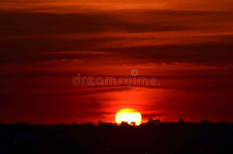 A beleza do nascer do sol fotos de stock