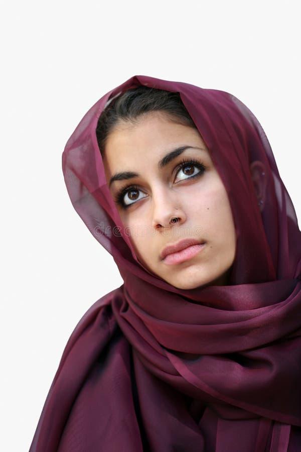 Beleza do Oriente Médio imagem de stock