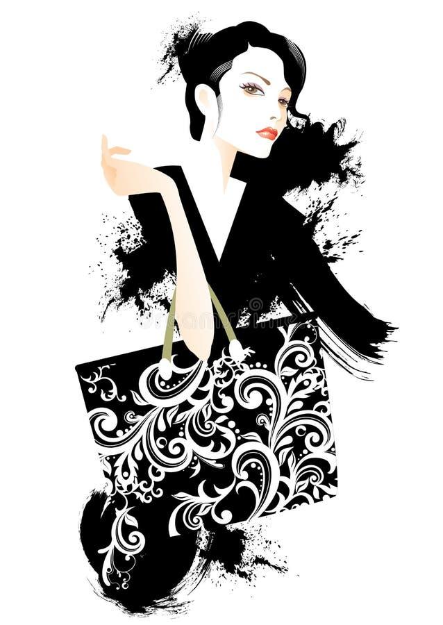 Beleza e forma ilustração do vetor