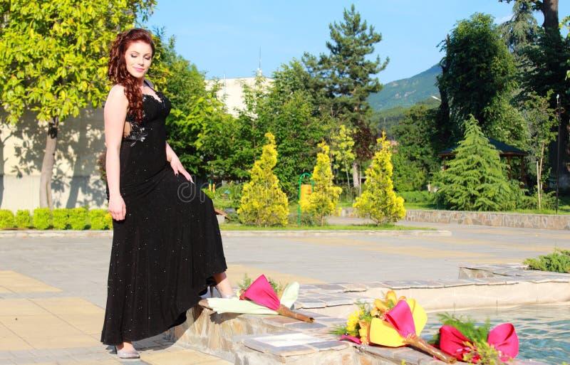 Beleza elegante exterior imagens de stock royalty free