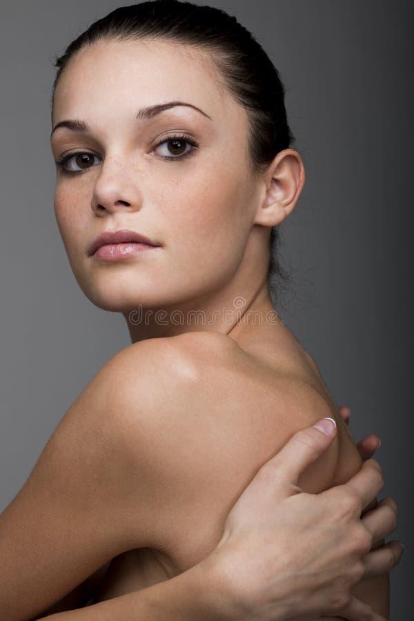 Beleza em Grady Backgorund fotografia de stock royalty free
