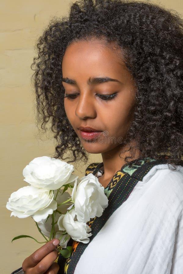 Beleza etíope imagem de stock