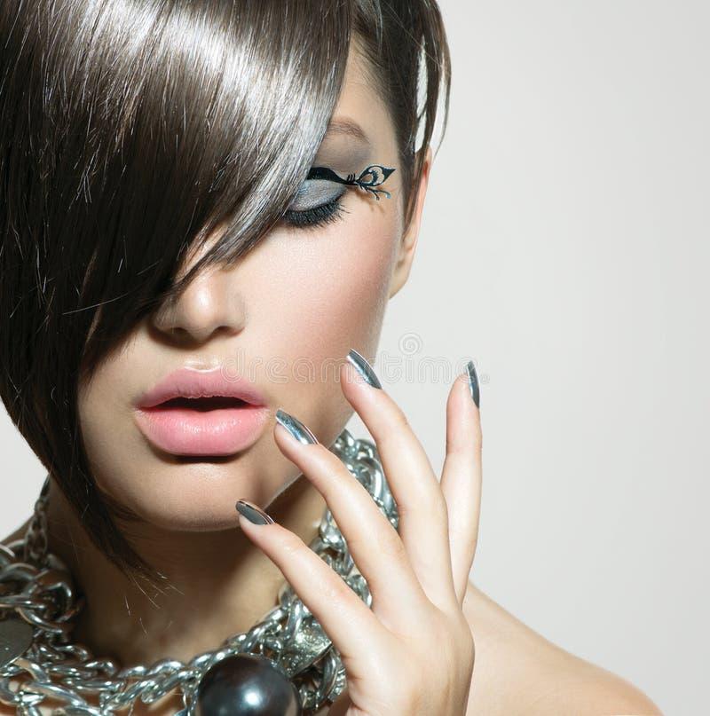 Beleza Girl modelo 'sexy' imagem de stock royalty free