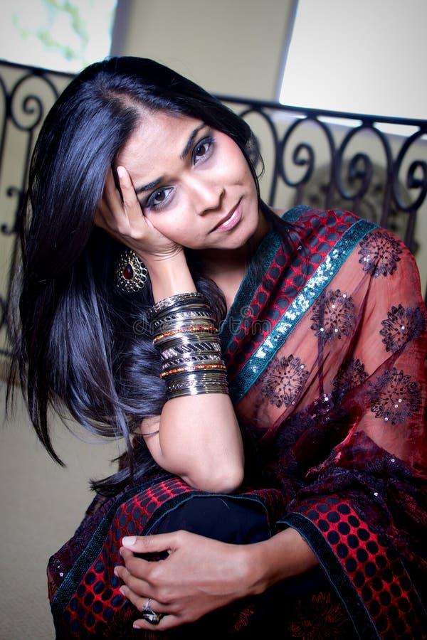 Beleza indiana fotos de stock royalty free
