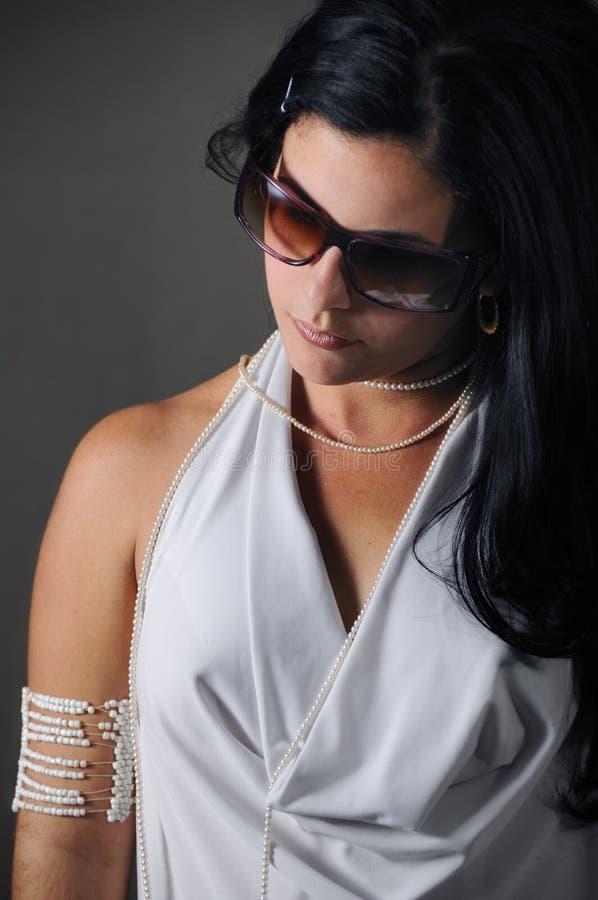 Beleza latino-americano foto de stock royalty free