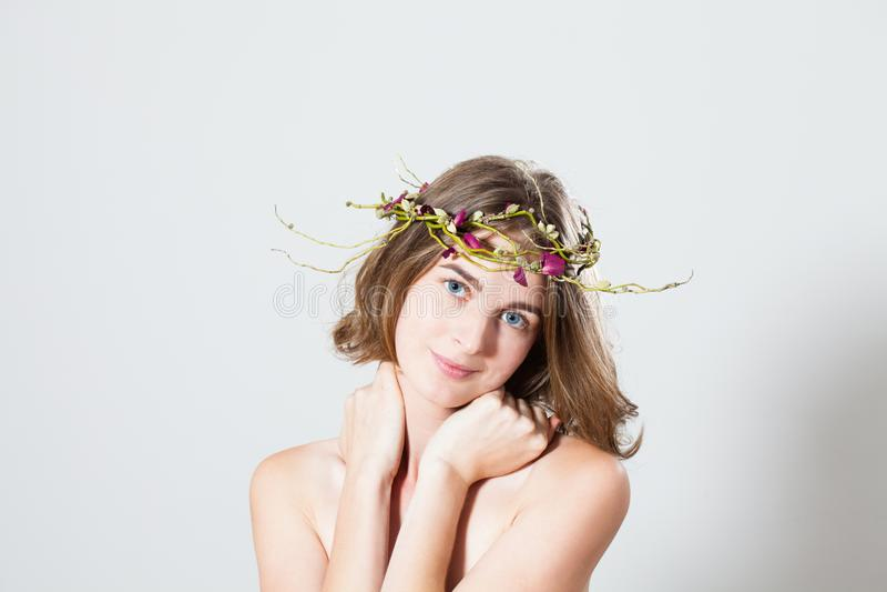 Beleza macia da mola fotos de stock royalty free
