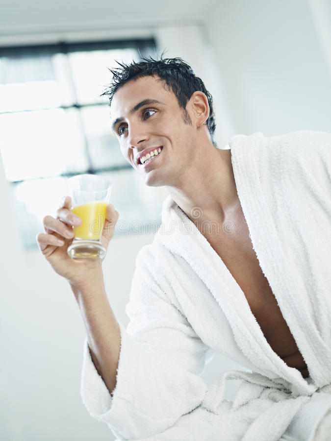 Beleza masculina foto de stock