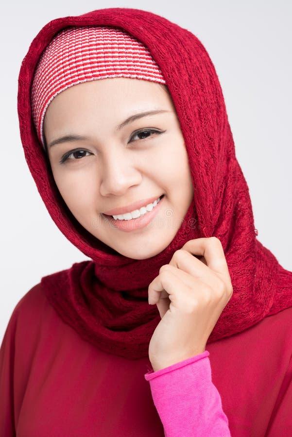 Beleza muçulmana imagem de stock royalty free