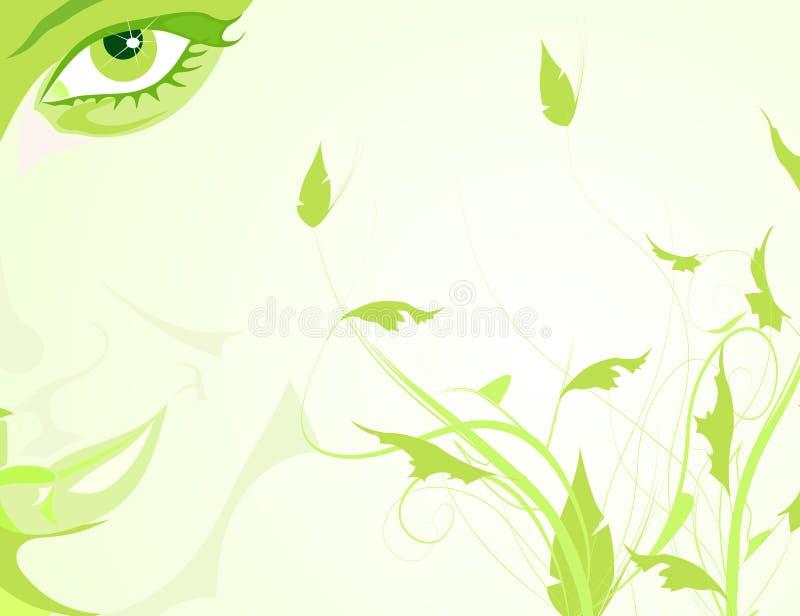 Beleza natural ilustração stock