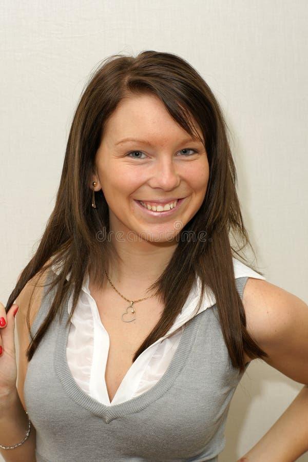 Beleza natural da mulher imagens de stock