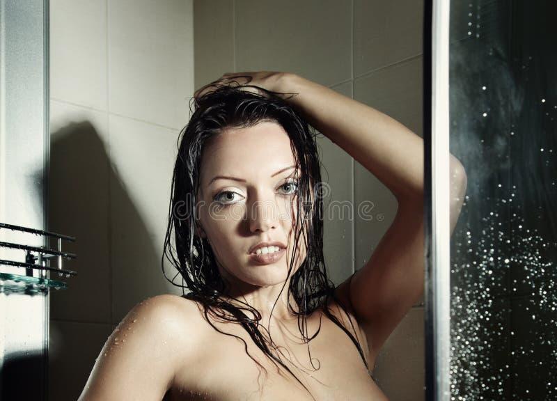 Beleza no banho foto de stock