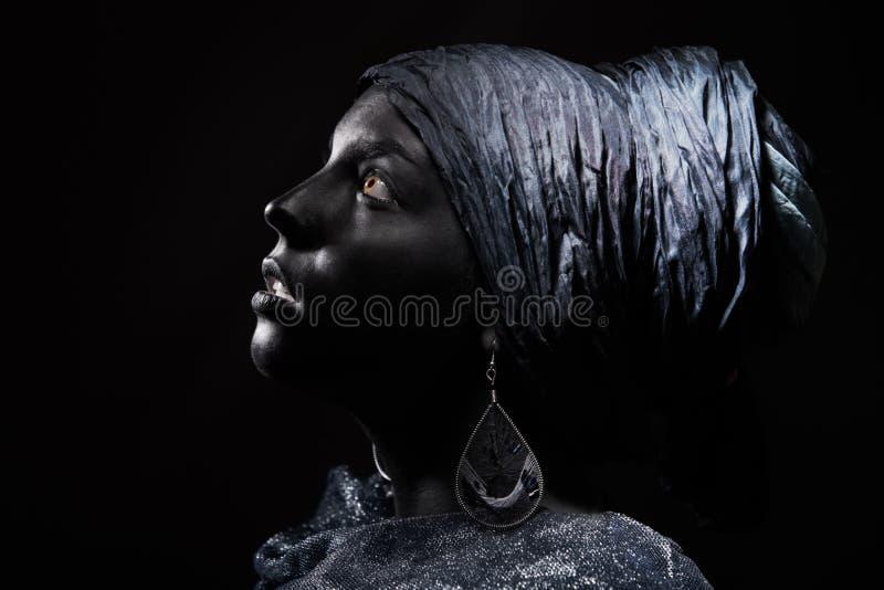 Beleza preta imagens de stock