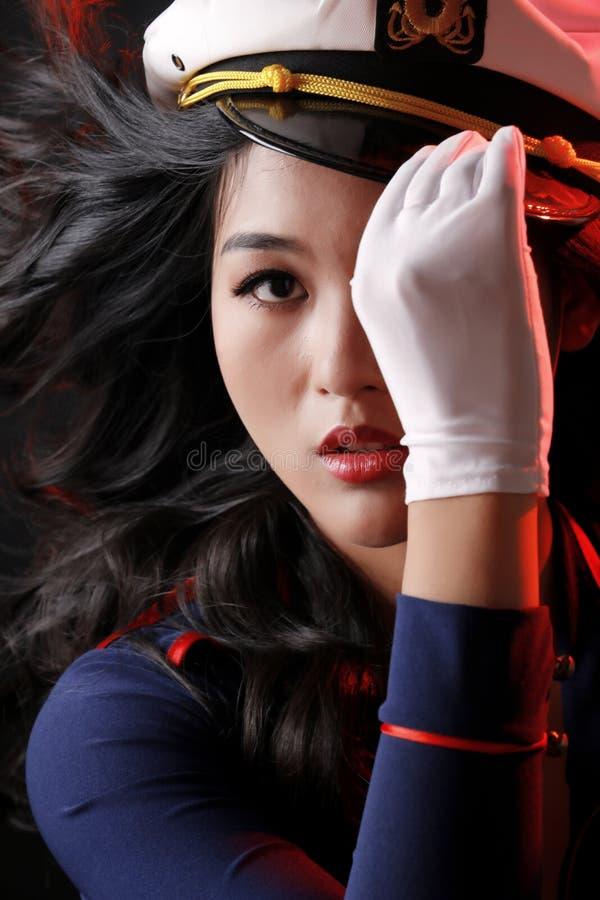 Beleza 'sexy' asiática foto de stock