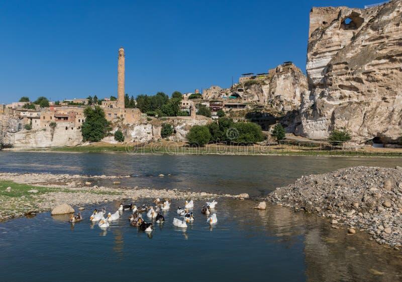 A beleza surpreendente de Hasankeyf, Turquia imagens de stock royalty free