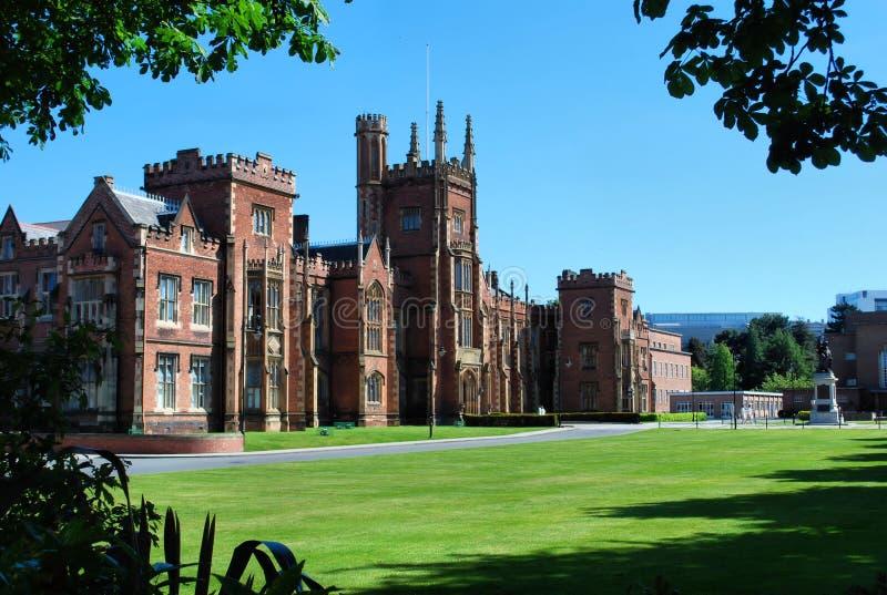Belfast-Campus der Königin Hochschul stockbild