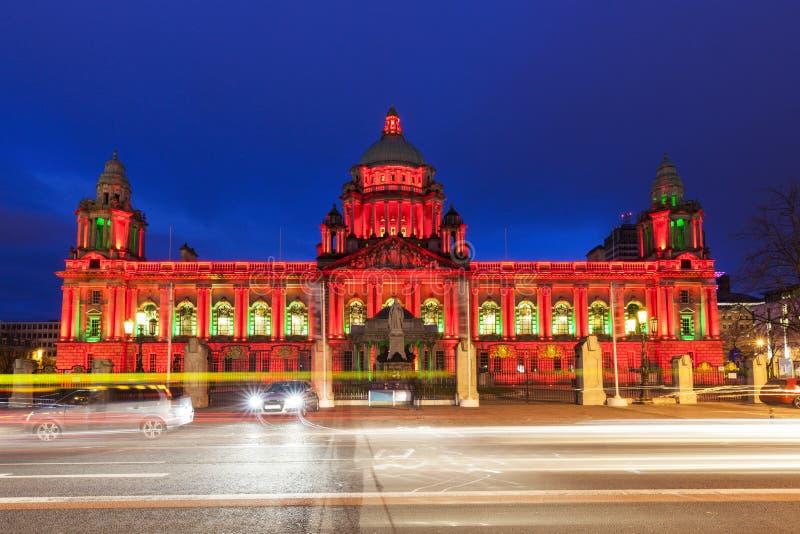 Belfast City Hall royalty free stock photography