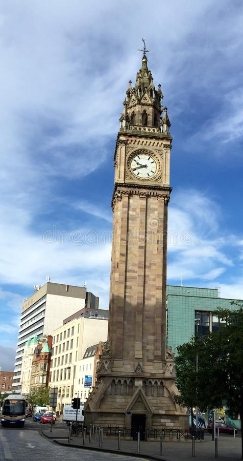 Belfast Clocktower royaltyfri foto