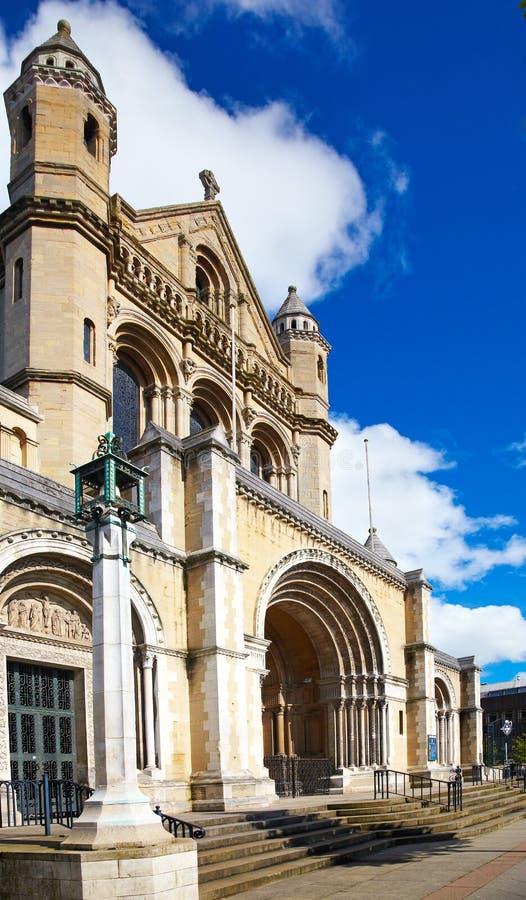 belfast katedra zdjęcie stock