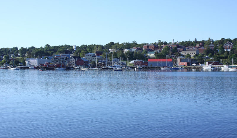 Download Belfast, Maine Harbor Waterfront Stock Photo - Image: 10931572