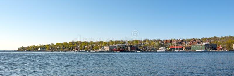 Belfast Maine Waterfront photographie stock libre de droits