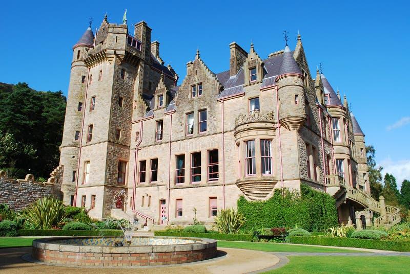 Belfast-Schloss stockfoto
