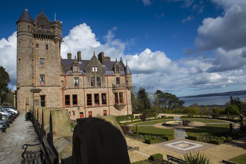 Belfast-Schloss stockbild