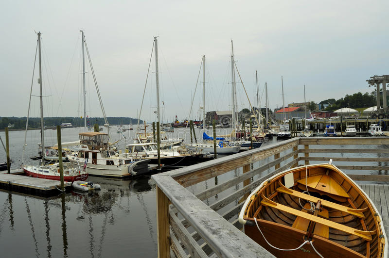 belfast schronienie Maine zdjęcie stock