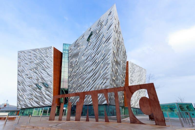 Belfast Titanic photo libre de droits