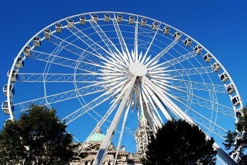 Belfast Wheel stock photo
