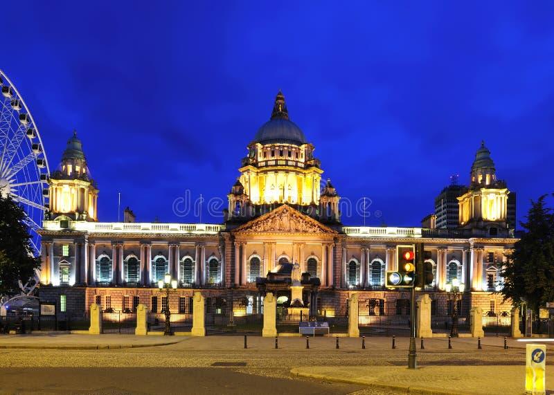 BelfastRathaus lizenzfreies stockfoto