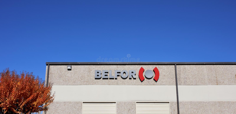 Belfor Majątkowy przywrócenie, Memphis, TN obrazy stock