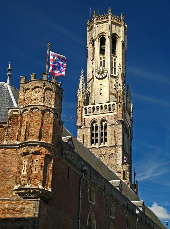 Belfrey of Bruges 04 stock images