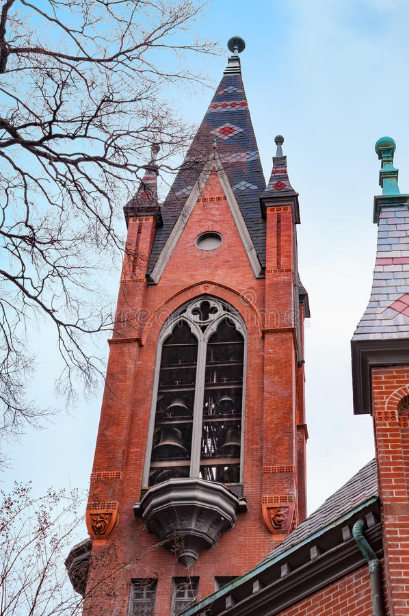 Belfry церков стоковое изображение