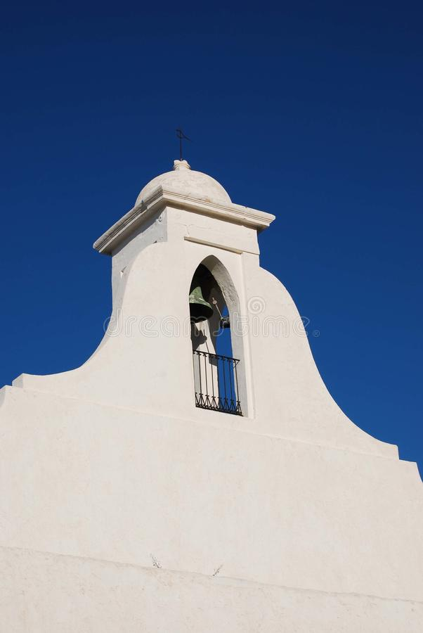Download Belfry stock image. Image of bell, fortress, balearic - 22013393