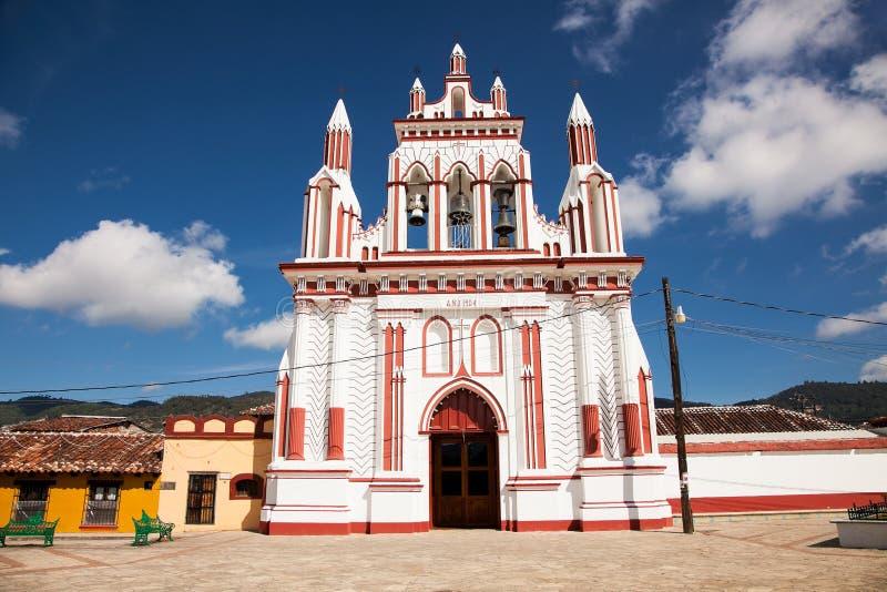 Belfry auf Kirche in San Cristobal de Las Casas, Chiapas, Mexiko stockbilder
