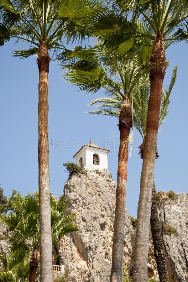 Download Belfry behind Palm Trees stock image. Image of heritage - 22595553