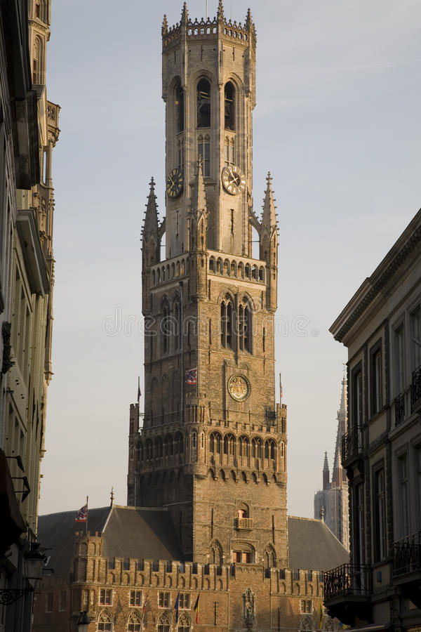 Download Belfry in Bruges stock image. Image of bruges, landmark - 11361233