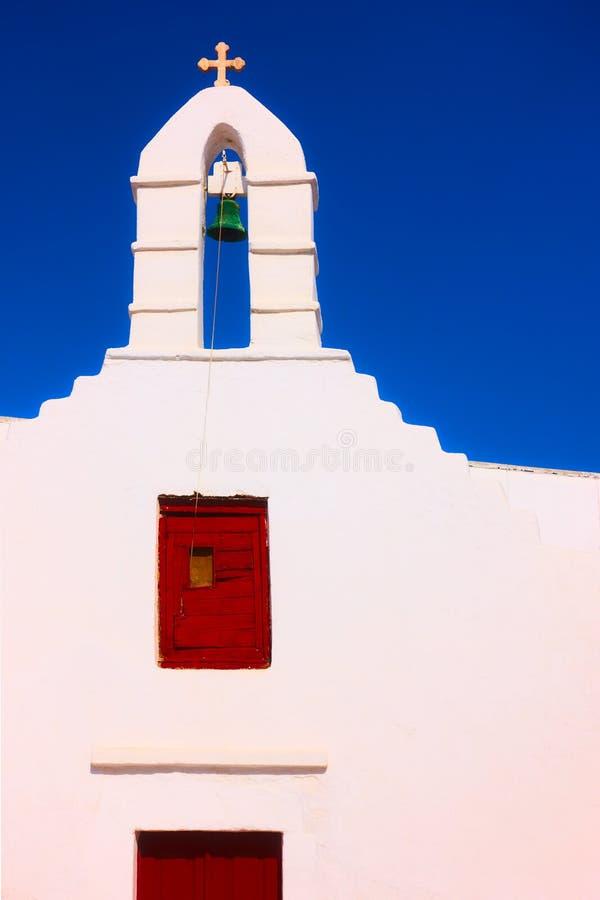 Belfry of greek orthodox church stock photography